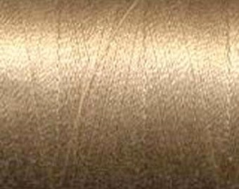 Aurifil Thread  50 wt. cotton Mako thread-Beige 1422 yard spool  2314