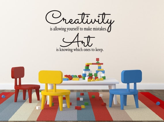 Creativity Quotes For Kids Wall Art