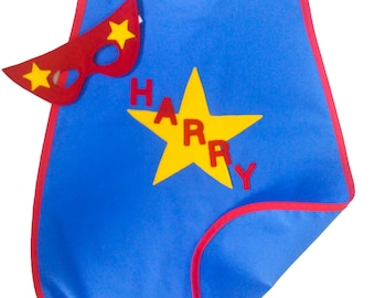 Superhero Cape - Personalised Superhero Cape - Full Name - Dress Up - Superhero Costume - Kids Fancy Dress - Superhero Party - Personalized