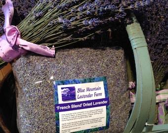 3 lb. French Blend Dried Lavender, 3 pounds, craft, DIY, pot pourri, candle, bath