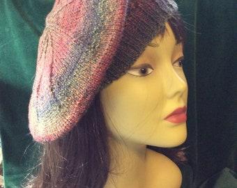 Painted desert beret