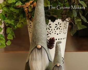 Gnomes rustiques ensemble avec Mini, HADMAR, sorciers, scandinaves Gnomes, elfes, Gnomes nordiques, de la maison Woodland, forêt, Tomte, Gnome, Gnome maison