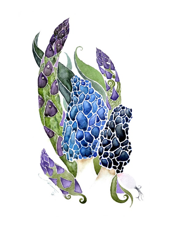 May -giclee PRINT  of original watercolor-