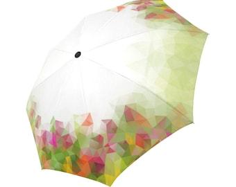 Green Umbrella Floral Umbrella Designed Umbrella Geometric Umbrella Rainbow Umbrella Photo Umbrella Automatic Abstract Umbrella