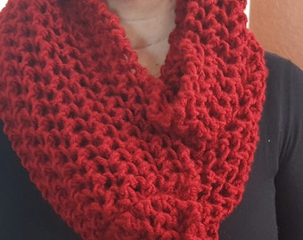Hand made soft wool scarf