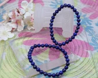 Natural Lapis Lazuli gemstone bracelet