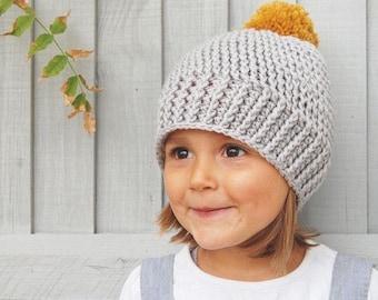 Winter Bobble Pom Pom Hat Child/Toddler