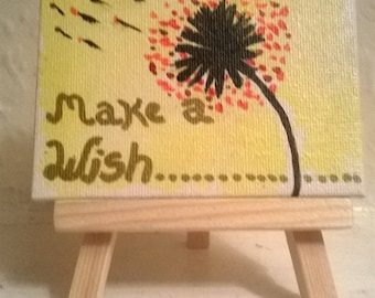 canvas and easel painting.