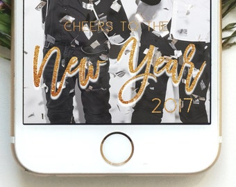 New Year Geofilter Happy New Year Geofilter New Years Eve Party Party Geofilter New Years Party Geofilter Glitter Gold Geofilter Cheers to