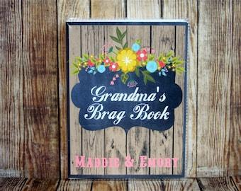 Photo Album, Custom Photo Album, Photo Album 4x6, Grandma's Brag Book, Rustic Photo Album, Mini Photo Album,Personalized Photo Album,