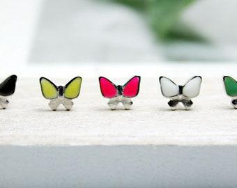 Stainless Steel Earrings Butterflies