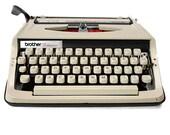 Retro Typewriter, Vintage...