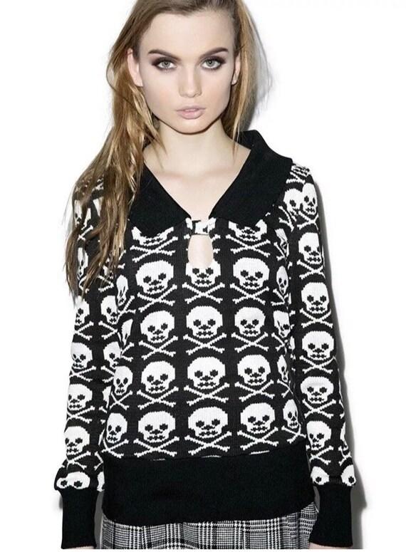 Jawbreaker Skull N' Crossbones Sweater