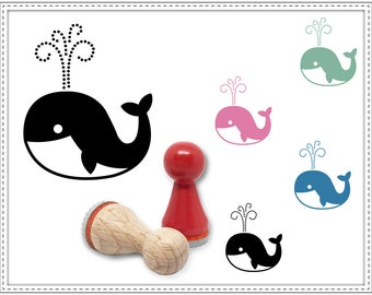 Rubber stamp ORCA Ø 15 mm