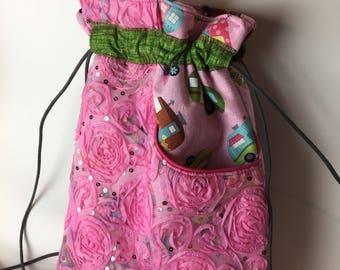 Pink Collosus Back Pack