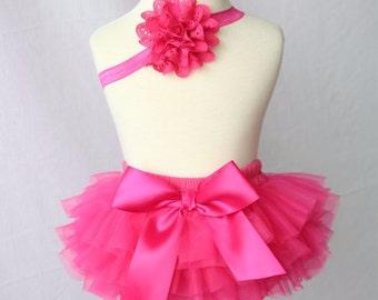 Pink Bloomer Set