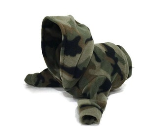 Camouflage Fleece Cat Hoodie-Camo Cat Hoodie-Fleece Cat Hoodie-Cat Sweaters-Cat Hoodies-Cat Sweatshirt-Cat Sweater-Cat Clothes-Cat Shirts
