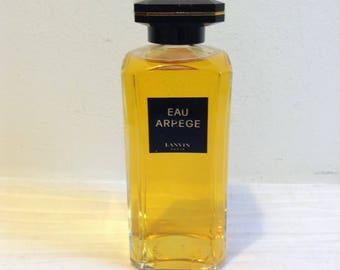 Eau Arpege, Lanvin, Paris.  FULL.  Vintage 1960. Parfum, Perfume.