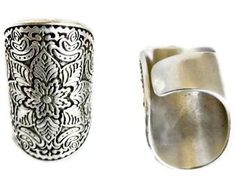 Boho rings, silver rings, boho ring, mandala ring, silver ring, statement ring, silver jewelry, statement, adjustable ring, boho
