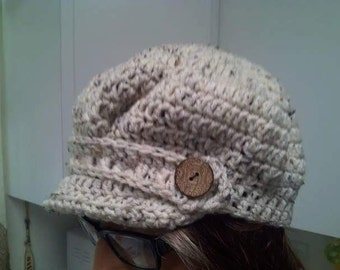 Adult Newsboy Hat