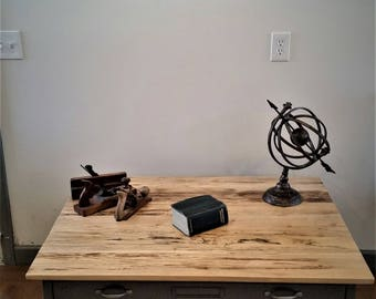 Flat File Cabinet Industrial Coffee Table