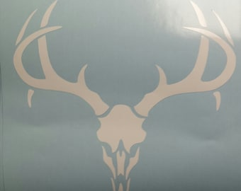 Buck Skull decal