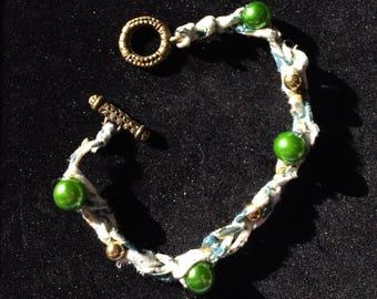 Crochet cotton bracelet
