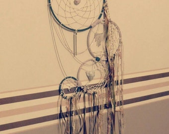 Hippy Heart Multi-Hoop Dreamcatcher