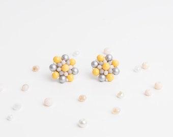 Crystal earrings, Earrings, Crystal dangle earrings, Beaded Earrings, wedding accessories, party accessories,