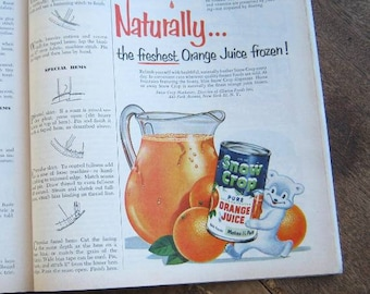 June 1953 Better Living Magazine; Atomic Products/Coca-Cola/Food/Cigarette/Lifestyle/Fashion Ads; Wedding Story; U.S. Shipping Included