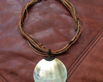 Vintage Cambodian Shell Necklace