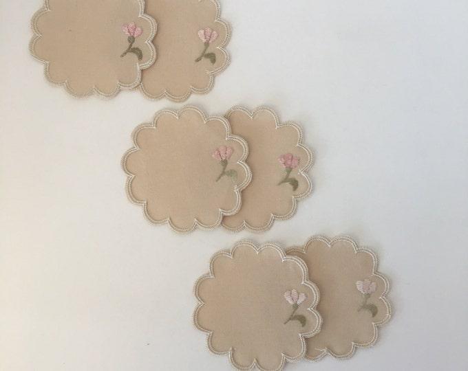 Vintage Handmamde Coasters
