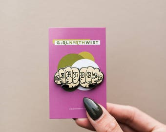 Girl Boss Gang - Enamel Pin