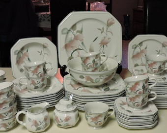 Etsy your place to buy and sell all things handmade mikasa continental silk flowers dinnerware 60pcs f3003 serving pieces cups saucers plates bowls mightylinksfo