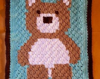 c2c bear graphgan blanket