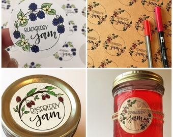 Jar Labels - Jams