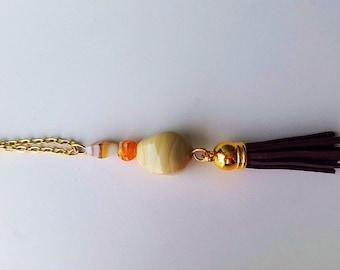 Tassel necklace, long necklace, bohemian necklace, boho necklace