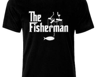 The Fisherman Fishing Angeln Fischen  T-Shirt
