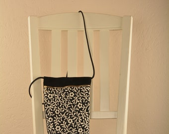 Black and White Chula purse