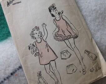 40% Off SALE - Advance Girls Nightwear Pattern 2932 - Was 6/Now 3.60