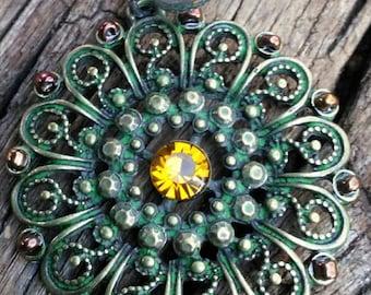 Sparkling Wine Cork Keychain