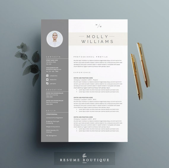 resume template 4 page cv template cover letter for ms