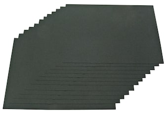Recycled A3 Black Sugar Paper 100gsm Black Recycled Construction Paper Stock Choose Quantity