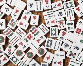Mah Jongg Tiles Gift Tags