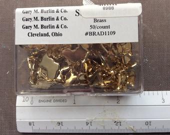 Stocking Brads (Brass)