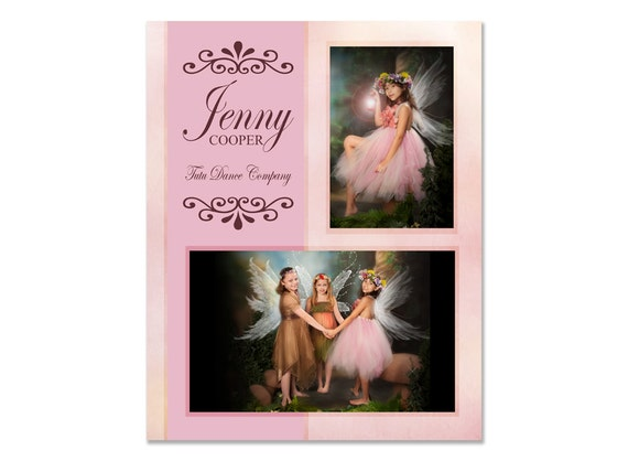 Pink Memory Mate Template, great for Dance from DownloadDen on Etsy ...