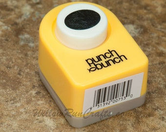 1 Paper Punch 12 x 16mm by Punch Bunch Oval for Paracord/Shoelace Charms, Pendants (21-07-227)