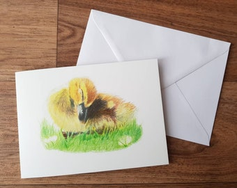 Easter Card - duckling | Greeting Card | Birthday Card | Blank Card | Thank you Card | Bird lovers card | Wildlife Card | Animal Lovers