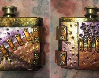 "2"" Steampunk Flask"
