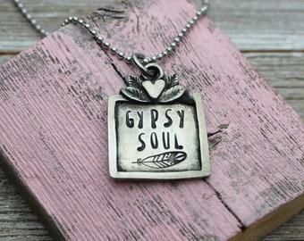 SALE - Gypsy Soul Necklace
